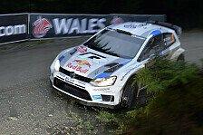WRC - Ogier bei Wales-Qualifikation vorne