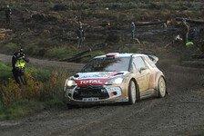 WRC - Kubica: Fahrfehler führt zu Unfall