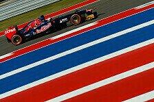 Formel 1 - Kvyat mit Debüt zufrieden