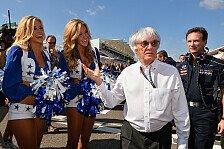 Formel 1, Bernie Ecclestone gegen Grid-Girl-Aus: Ziemlich prüde