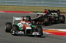 Formel 1 - Kleine Teams hoffen auf Kostenreduktion