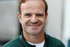 Formel 1 - Comeback mit Caterham? Das sagt Barrichello