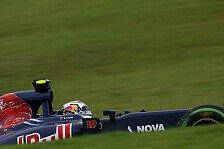 Formel 1 - Kvyat: Reifen für Riccardo gespart