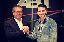 GP2 - Fix: Abt fährt für Hilmer