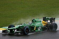 Formel 1 - Caterham vs. Marussia: Hoffen auf Regen