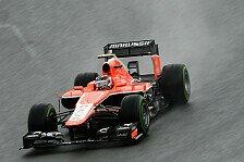 Formel 1 - Chilton mit Formel-1-Bestmarke
