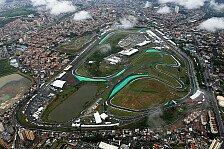 Formel 1 - Umbaumaßnahmen sichern Interlagos-GP