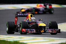 Formel 1 - Vettel feiert in Brasilien neunten Seriensieg