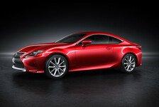 Auto - Weltpremiere des Lexus RC