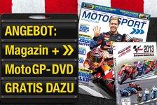 MotoGP - Weihnachts-Angebot: Motorsport-Magazin+Gratis-DVD