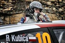 WRC - Bestzeiten und Zwischen-Führung: Kubica überzeugt