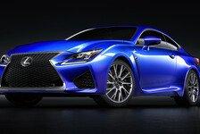 Auto - Lexus RC F - der neue Lexus Sportwagen