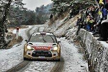 WRC - Östberg peilt viertes Schweden-Podest in Folge an