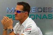Formel 1 - Lausanne: Schumacher immer öfter bei Bewusstsein