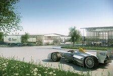 Formel E - Formel E baut Zentrale in Donington Park