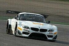 Blancpain GT Serien - Zanardi absolviert erste Fahrt im BMW Z4 GT3