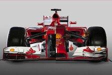 Formel 1 - Ferrari verspricht: Neues Auto wird schöner