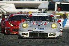 USCC - Porsche in Sebring: Verteidigung der Punkteführung