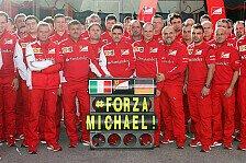 Formel 1 - Schumacher in Jerez allgegenwärtig