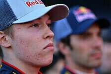 Formel 1 - Kvyat: Jungfernfahrt vertagt