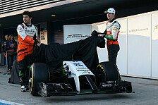 Formel 1 - Vorschau: Force-India Präsentation