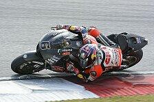 MotoGP - Bradl knapp an Pedrosa dran