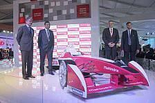 Formel E - Mahindra Racing präsentiert Boliden