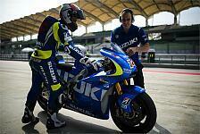 MotoGP - Suzuki mit positivem ersten Testlauf