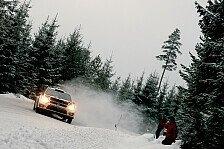 WRC - VW-Duo im Sekundenkampf um Platz eins