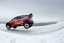 WRC - Hyundai am Samstag wieder am Start