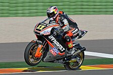 Moto2 - Rookie Vinales beendet Test an der Spitze