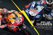 MotoGP - Neues Motorsport-Magazin: Duell der Giganten