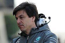 Formel 1 - Wolff optimistisch, aber vorsichtig