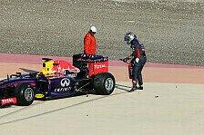Formel 1 - Bahrain, Tag I: Red Bull erneut mit Problemen