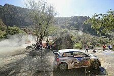 WRC - Ogier am Ende von Tag 2 in Mexiko vorne
