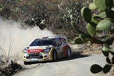 WRC - Mexiko: Östberg führt vor Ogier