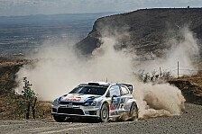 WRC - Volkswagen Piloten startklar für Rallye Mexiko