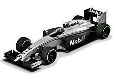Formel 1 - McLaren mit Spezial-Lackierung in Melbourne