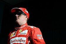 Formel 1 - Konkurrenz lässt Räikkönen kalt