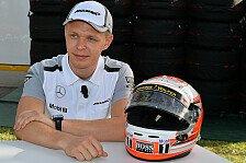 Formel 1 - Magnussen folgt Button auf Schritt und Tritt