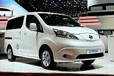 Auto - Nissan e-NV200 startet bei 25.058 Euro