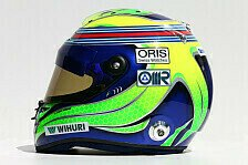 Formel 1 - Bilder: Australien GP - Fahrerhelme 2014