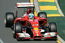 Formel 1 - 1. Training: Alonso-Bestzeit in Melbourne