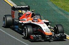 Formel 1 - Marussia: Ordentliche Vorstellung nach Problemen