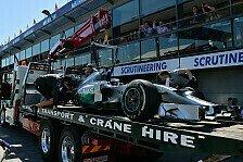 Formel 1 - Hamilton vom Abschlepphaken zur Bestzeit