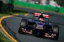 Formel 1 - Der erste Tag der Rookies in Melbourne