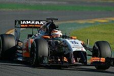 Formel 1 - Hülkenberg 'best of the rest'