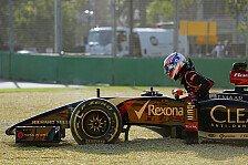 Formel 1 - Permane: Wollen das Wochenende retten