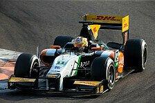 GP2 - Daniel Abt zufrieden nach erstem GP2-Test