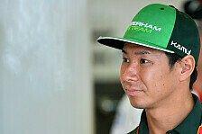 Formel 1 - Geglücktes Comeback für Kobayashi